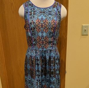 Charlie Jade XS Multicolored Patterned Dress